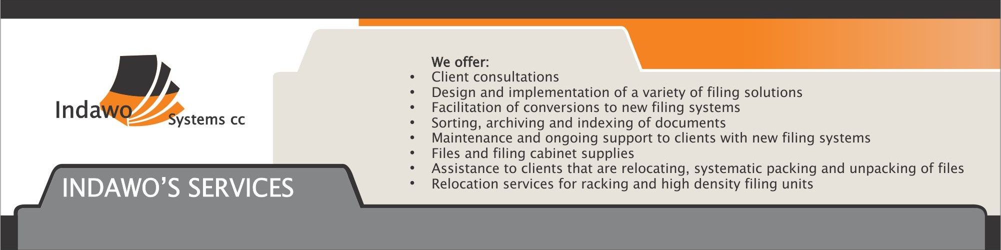 Indawo's Services